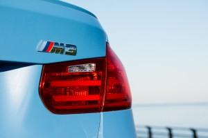 2015 BMW M3 emblem