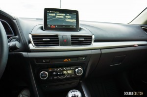 2015 Mazda3 Sport GT interior
