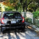 2015 Honda Fit EX-L Navi rear