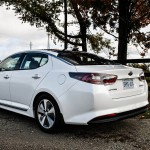 2015 Kia Optima Hybrid rear 1/4