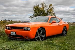 2014 Dodge Challenger R/T Shaker front 1/4