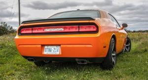 2014 Dodge Challenger R/T Shaker rear 1/4