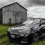 2015 BMW X4 xDrive35i barn shot