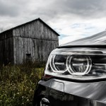2015 BMW X4 xDrive35i headlight