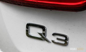 "2015 Audi Q3 TFSI ""Q3"" badge"