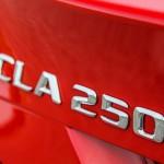 2015 Mercedes-Benz CLA250 badging