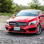2015 Mercedes-Benz CLA250 front 1/4