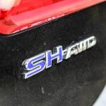 First Drive: 2015 Acura RLX Sport Hybrid badging