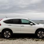 First Drive: 2015 Honda CR-V side profile