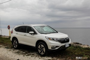 First Drive: 2015 Honda CR-V front 1/4