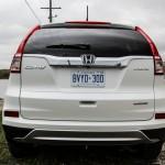 First Drive: 2015 Honda CR-V rear