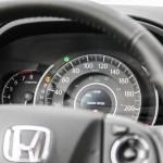 First Drive: 2015 Honda CR-V instrument cluster