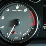 2015 Audi S3 Technik tachometer / boost gauge