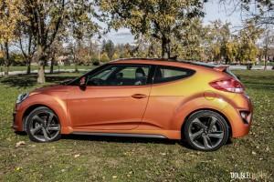2015 Hyundai Veloster Turbo side profile