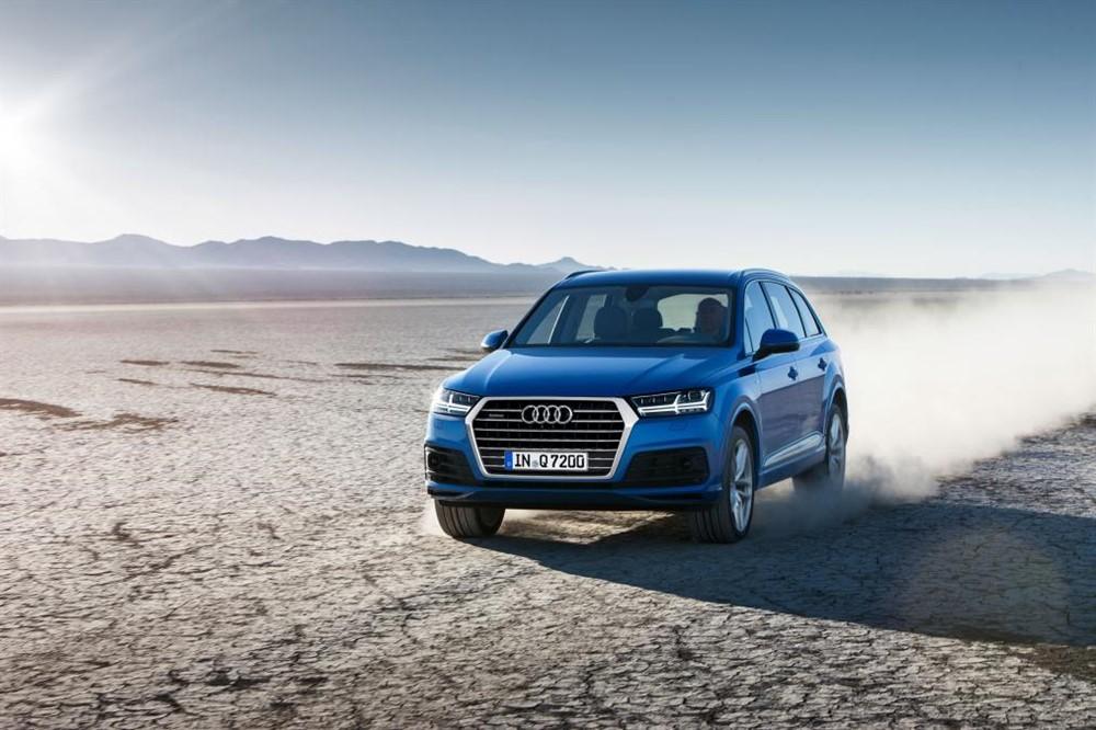 2016 Audi Q7 Revealed Ahead of 2015 Detroit Auto Show