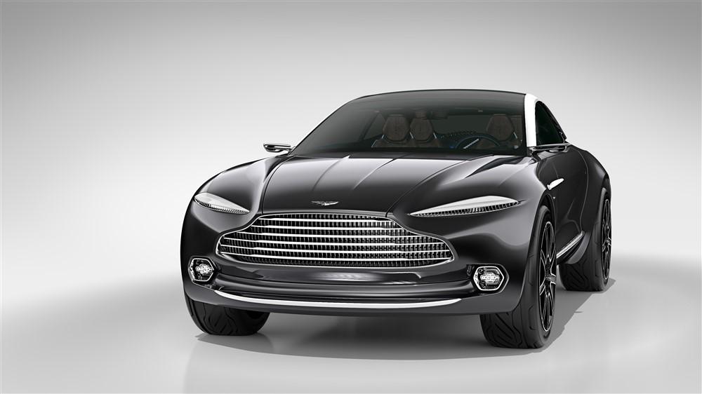 Geneva: Aston Martin reveals SUV concept