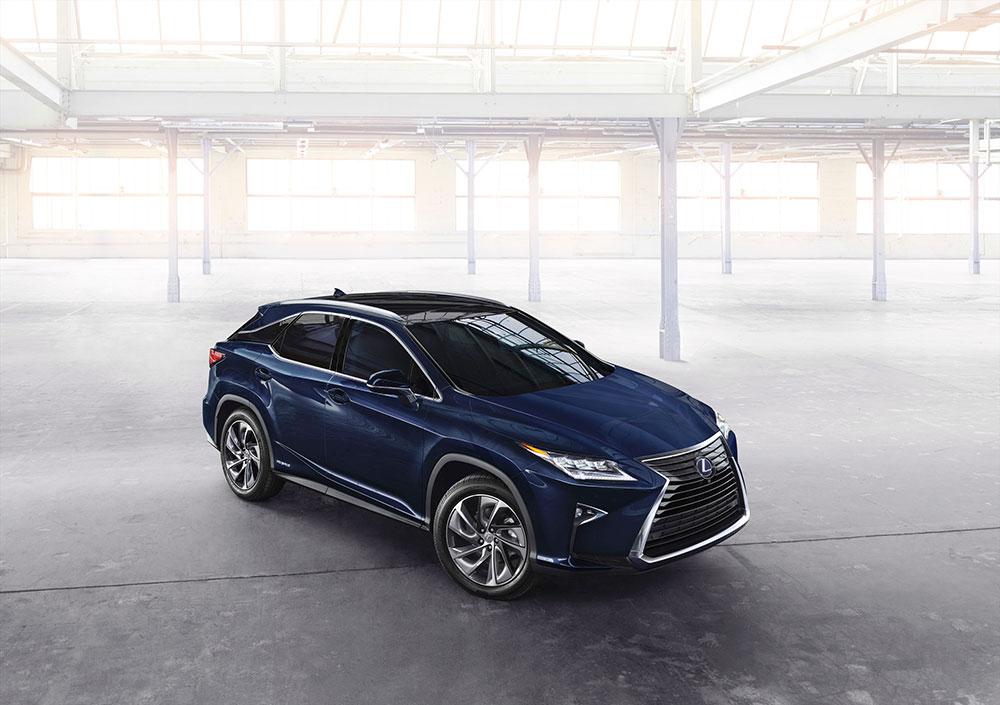 NYIAS: 2016 Lexus RX debut