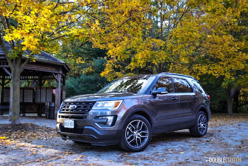 2016 Ford Explorer Sport Review Doubleclutch Ca