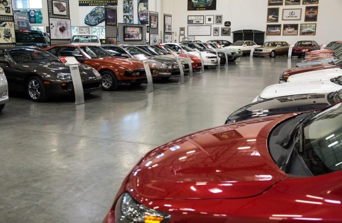 Tour: Toyota Heritage Museum