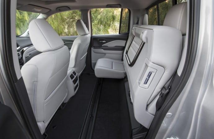 2017 Honda Ridgeline Back Seats