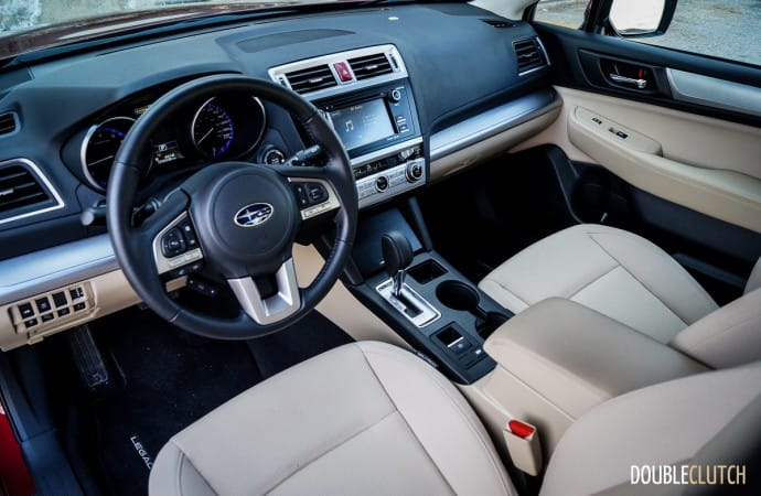 2016 Subaru Legacy 2.5i Touring car review