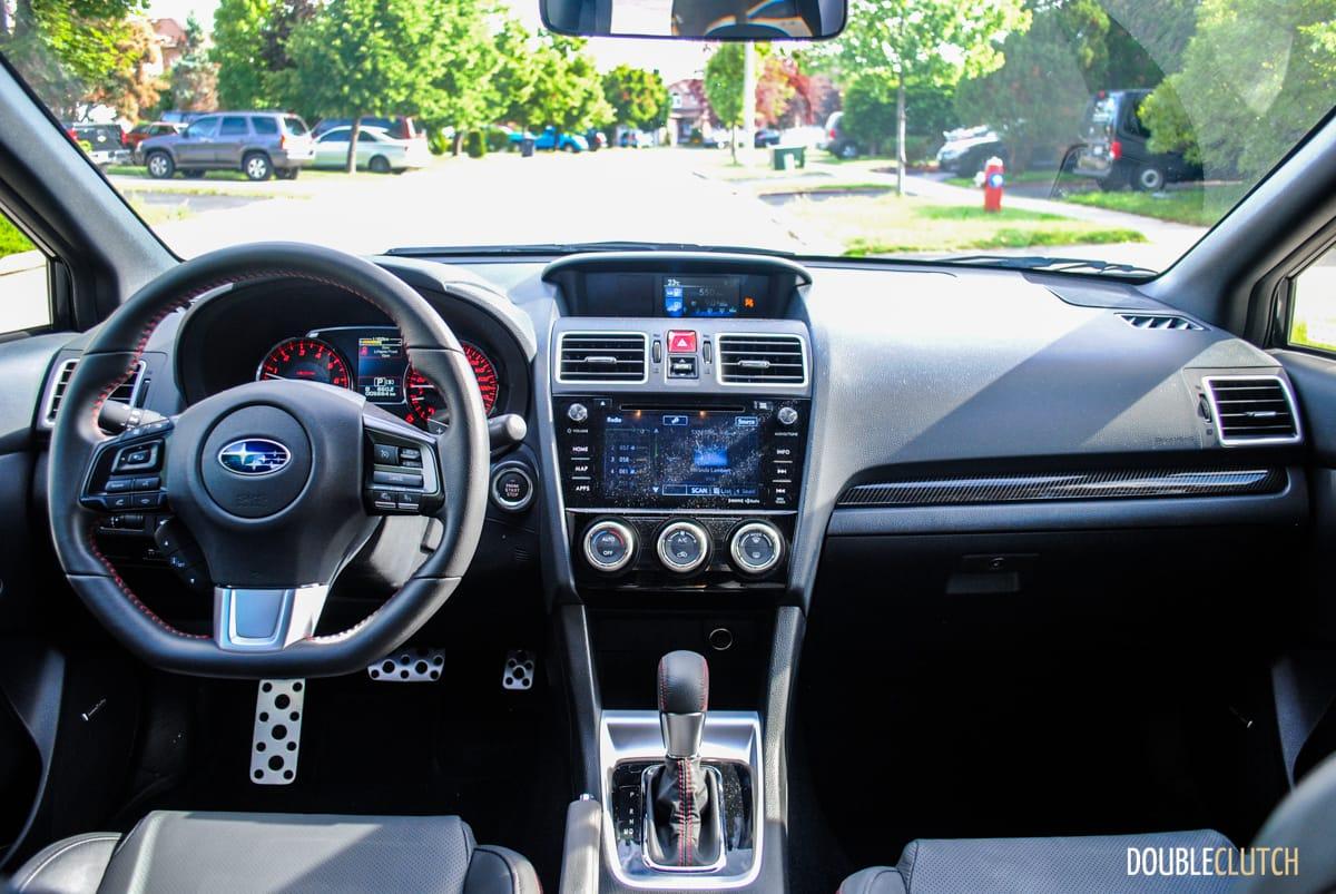 2017 Subaru Wrx Sport Tech Review Doubleclutch Ca
