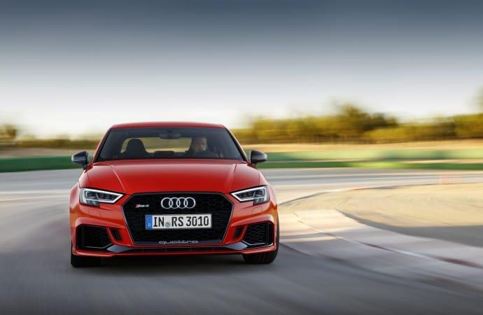 The striking Audi RS3 Sedan unleashed