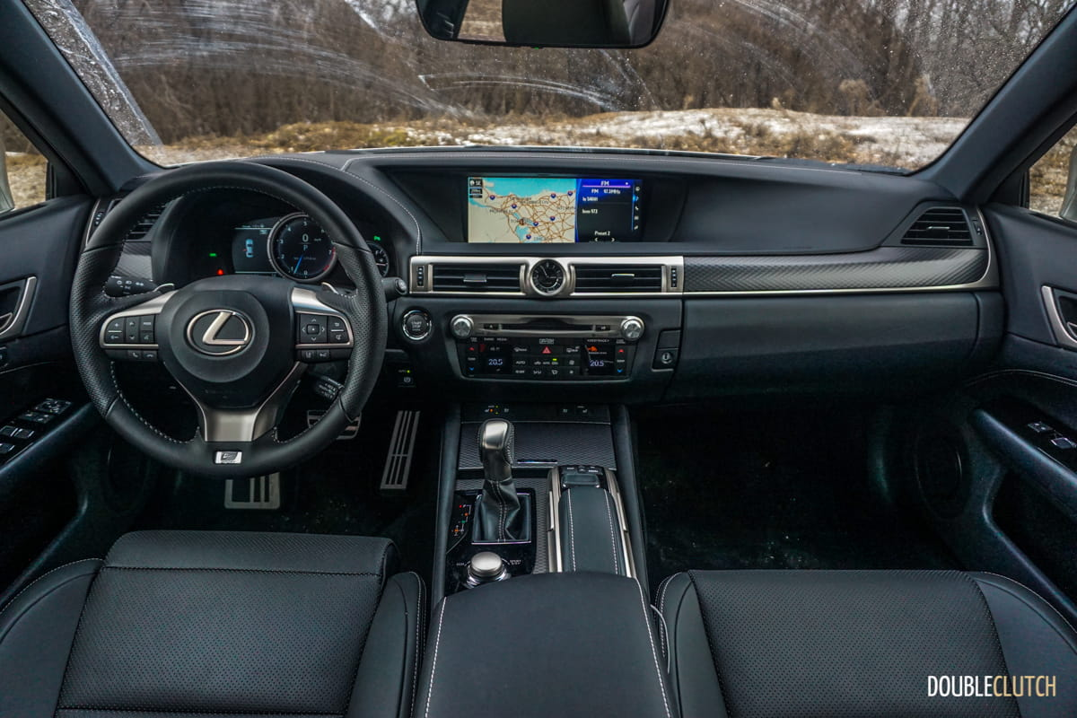 2017 Lexus GS 350 F Sport AWD DoubleClutchca