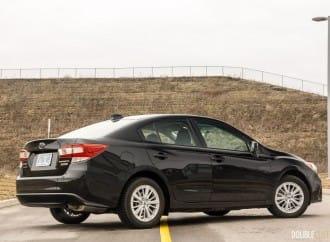 2017 Subaru Impreza Sedan Touring