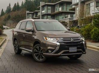 First Drive: 2018 Mitsubishi Outlander PHEV
