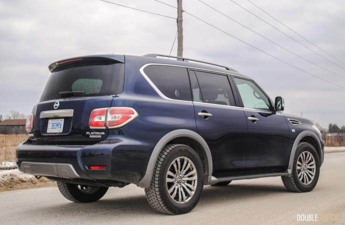 2018 Nissan Armada Platinum Reserve review