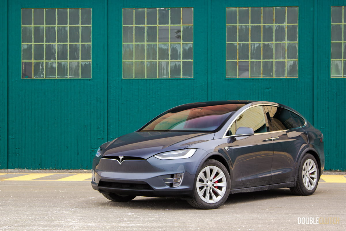 2018 Tesla Model X P100d Review Doubleclutch Ca