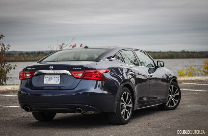 2018 Nissan Maxima Platinum review
