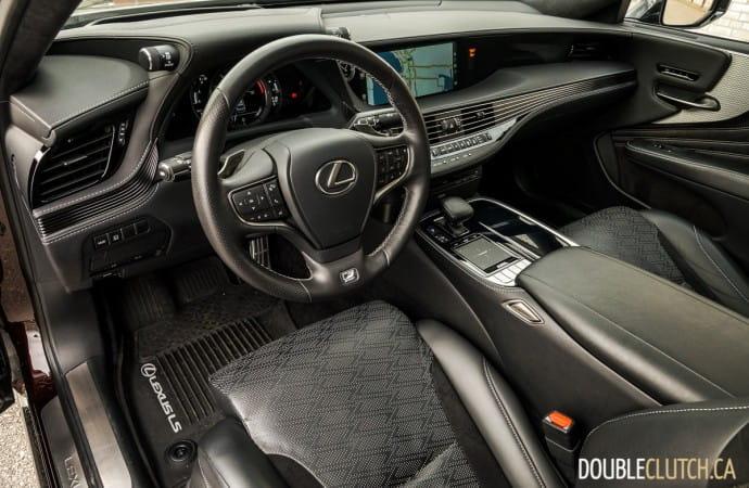 2019 Lexus LS 500 F-Sport AWD review