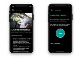 Mercedes-Benz launches Pro Reaction Challenge contest