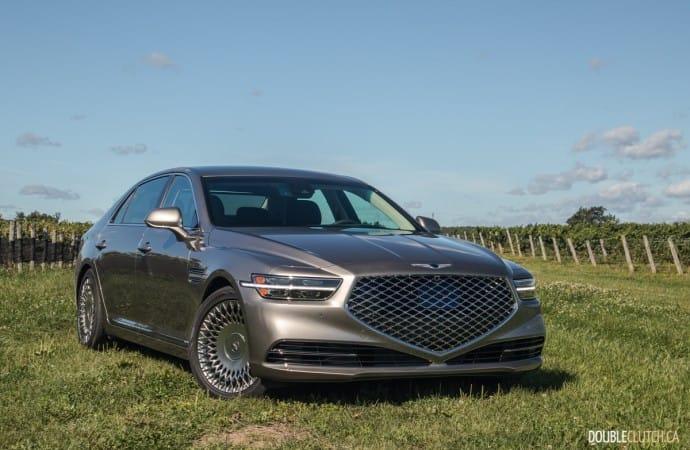 First Drive: 2020 Genesis G90