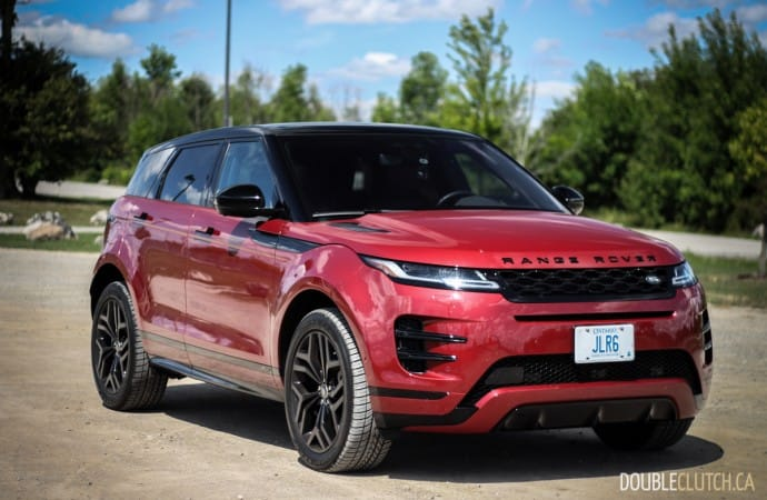 2020 Range Rover Evoque R-Dynamic