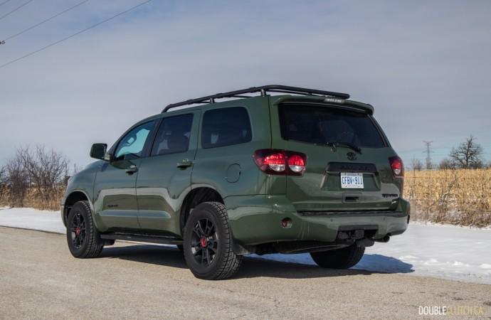 2020 Toyota Sequoia TRD Pro review